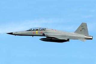 Argentina estaria interessada em caças F-5 Tiger