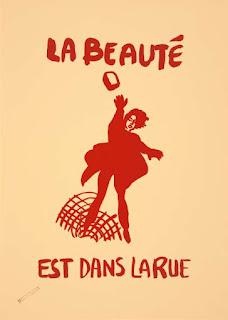 """Affiche """"La beauté est dans la rue"""""""