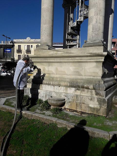 Γιάννενα: Καθαρίζουν το σημα κατατεθεν της πολης!