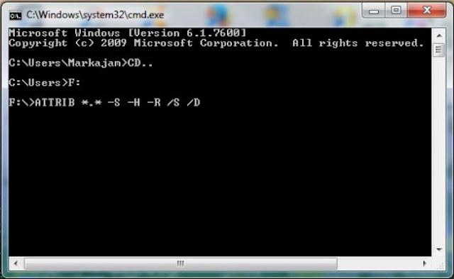 Cara Mengembalikan File yang Terhapus di Fd