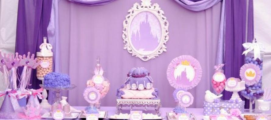 Manualidades decoraciones y mesa de dulces de princesita - Decoracion cumpleanos princesas ...