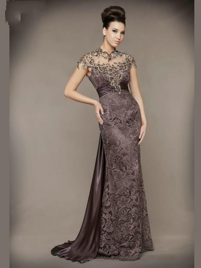 Vestidos de noche largos elegantes baratos