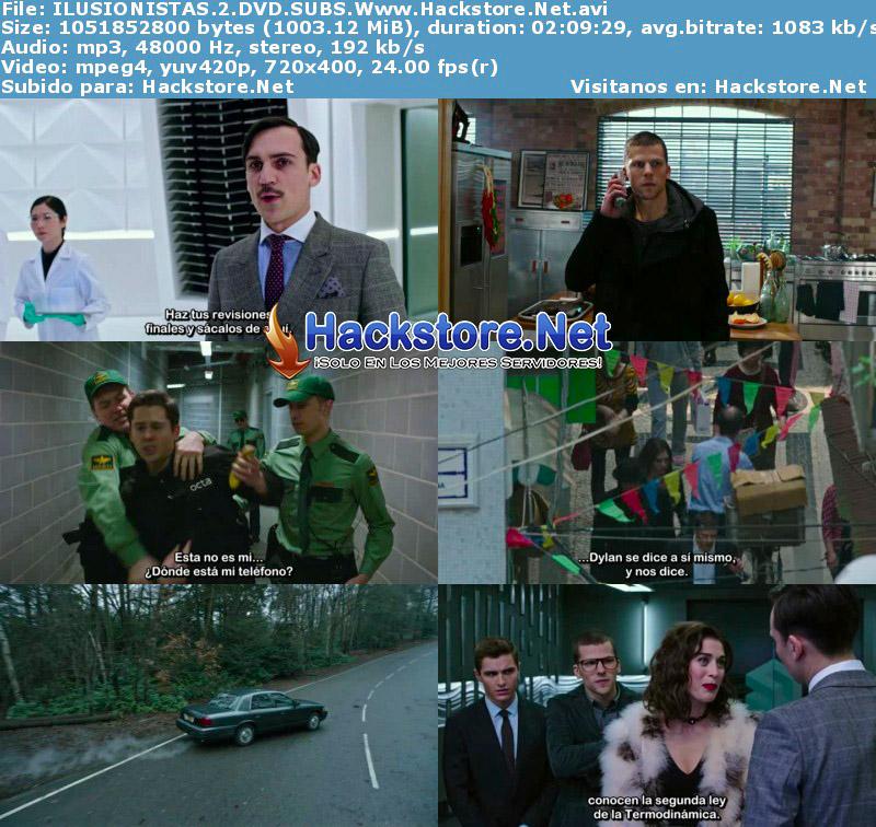 Capturas de Los Ilusionistas 2 (2016) DVDRip Subtitulada