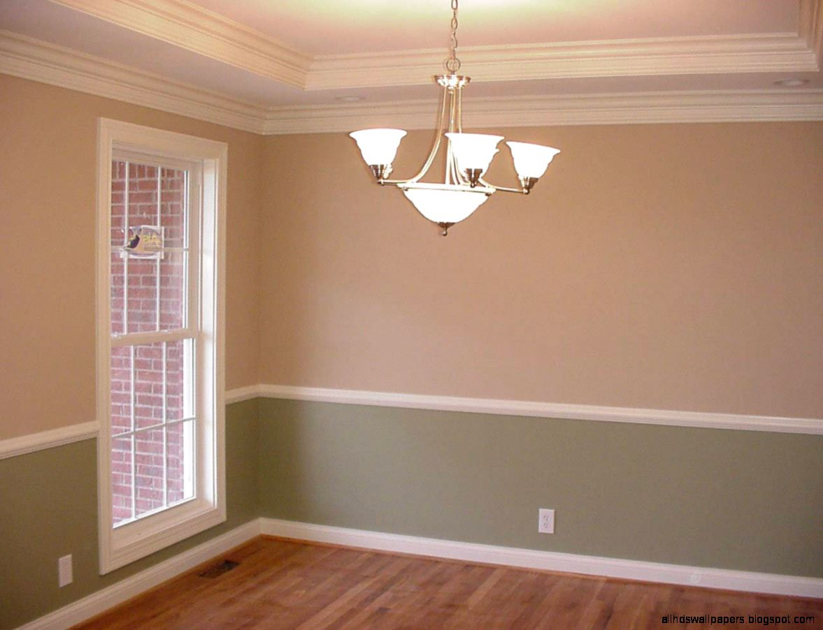 Painting Room With Chair Rail
