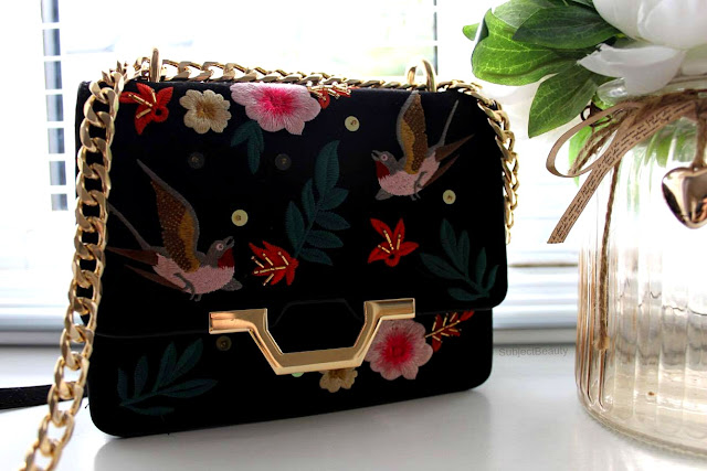 Monthly Favourites July Topshop Embroidered Bag