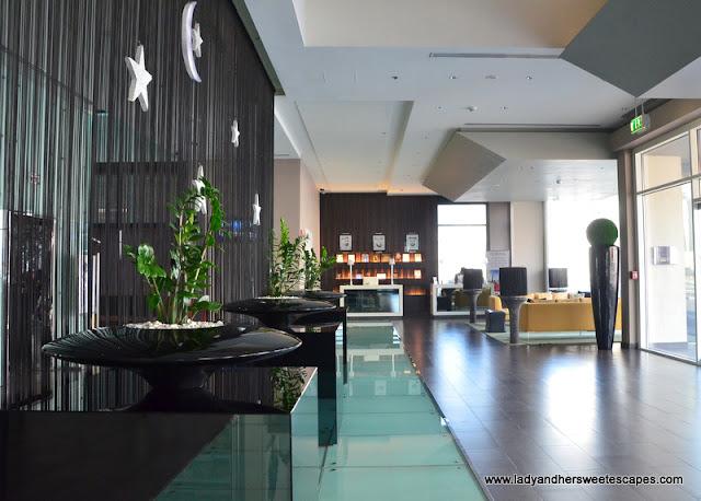 Centro Barsha's sleek lobby