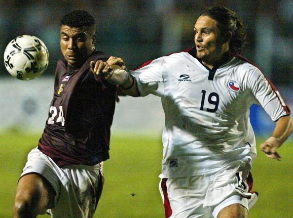Venezuela y Chile en Clasificatorias a Alemania 2006, 1 de junio de 2004