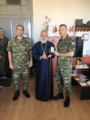Επίσκεψη Αρχηγού ΓΕΣ στο ΤΕΘ Ερμούπολης