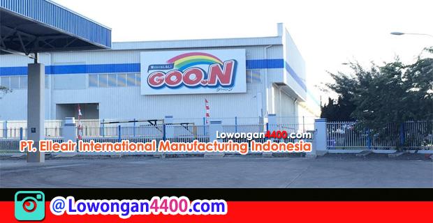 Lowongan Kerja PT. Elleair International Manufacturing Indonesia (EIMI) Februari 2018