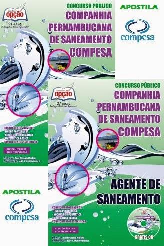 Apostila COMPESA-PE - Agente de Saneamento