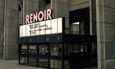colour photo of Renoir cinema in London, circa 2000