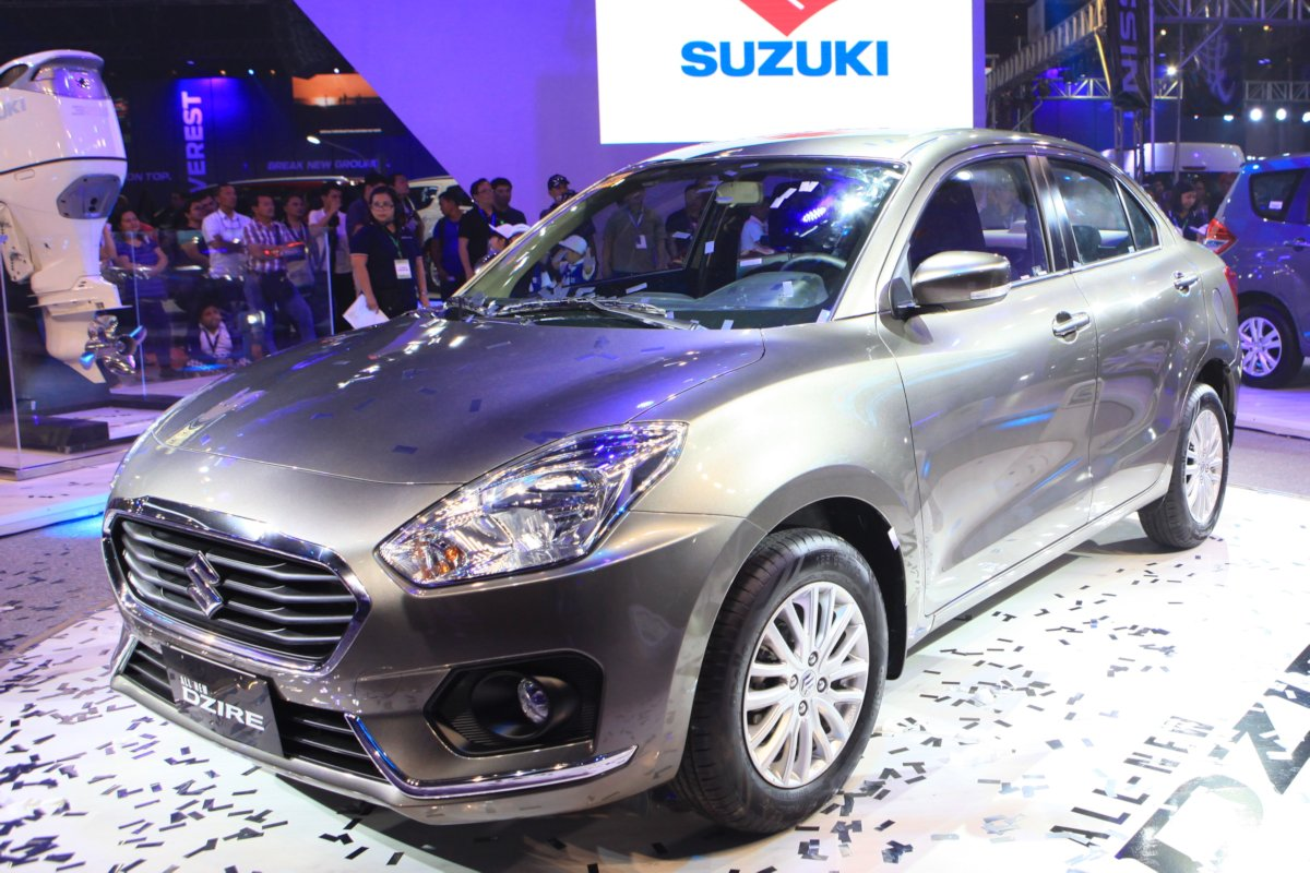 Mias 2018 Suzuki Philippines Previews All New Dzire Sub Compact