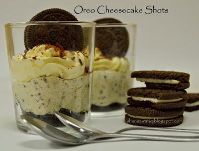 Oreo Cheese Cake Shots
