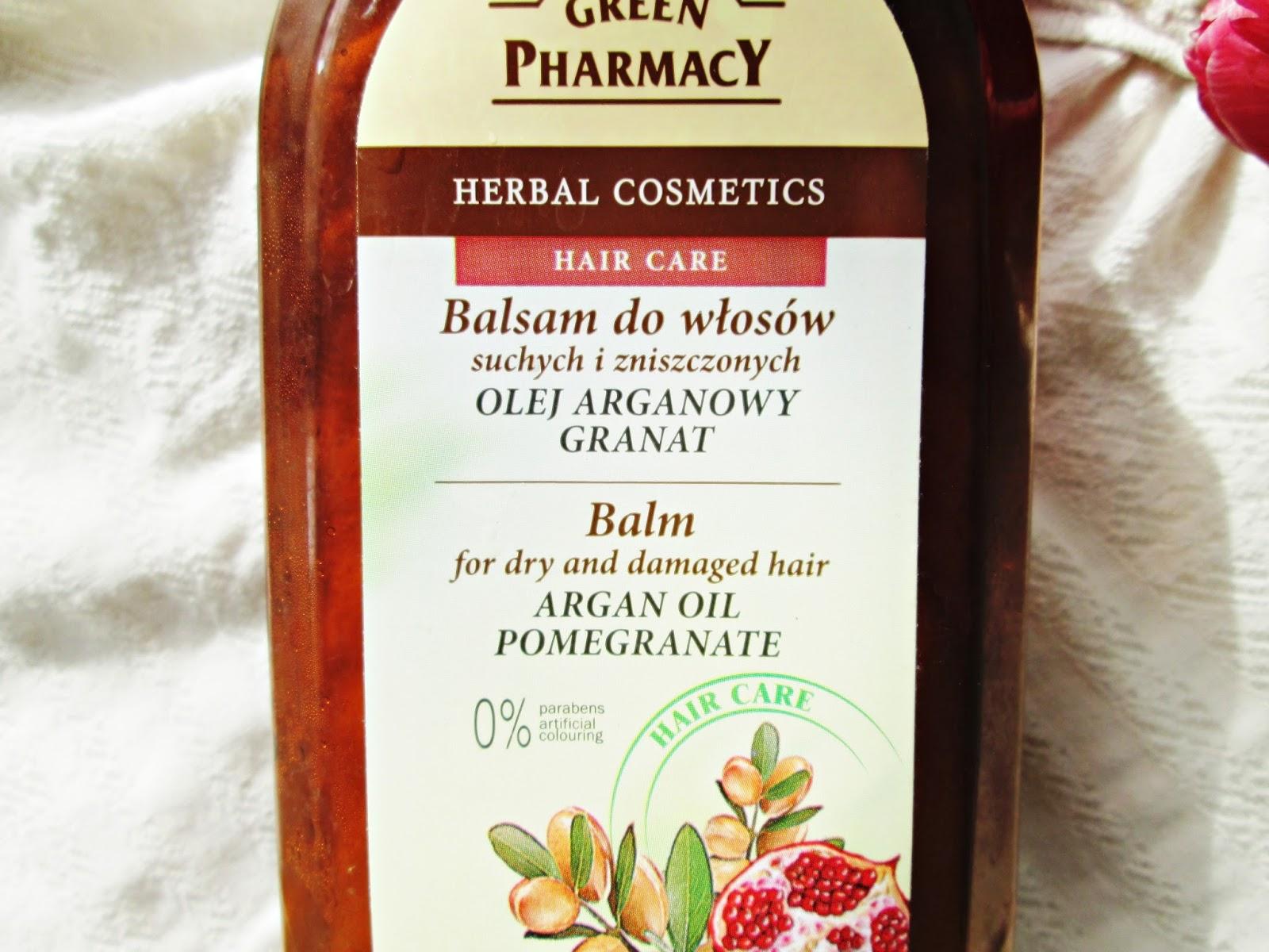 Green Pharmacy Balsam z olejem arganowym i granatem