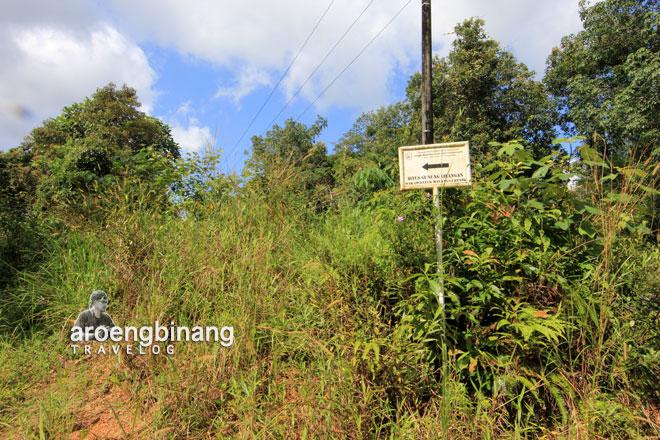 situs gunung lilangan belitung timur