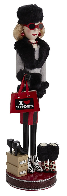 Shoe Lover Nutcracker Christmas Decor