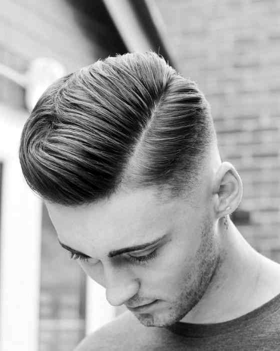 Different Kind Of Shaved Line Styles Can Be Made If The Side Hairs Are Cut  In Fade Style. The Symmetry Of The Hairs Is However Very Important To Get A  Clean ...