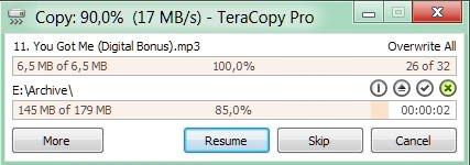 تحميل البرنامج المعجزة teracopy pro انسخ اكثر من 15Go في ظرف 30s