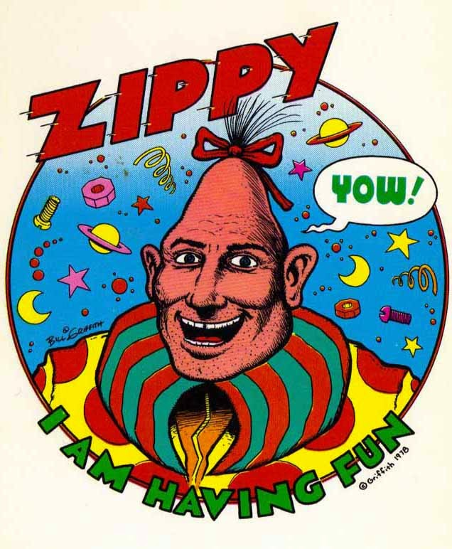 the great comic book heroes zippy the pinhead