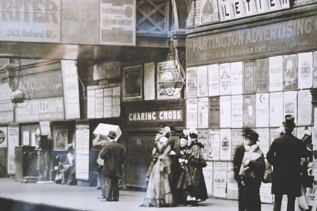 Charing Cross Underground Station 1900s