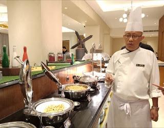 Executive Chef Ambhara Hotel,  Chef Maulana Malik Ibrahim