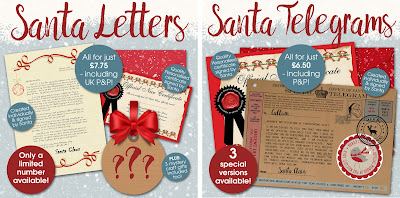 Photofairytales blog from the award winning site specialising in remember if you get a photofairytales santa letter or telegram youll know that santa has actually handled it himself written it himself and signed it spiritdancerdesigns Choice Image