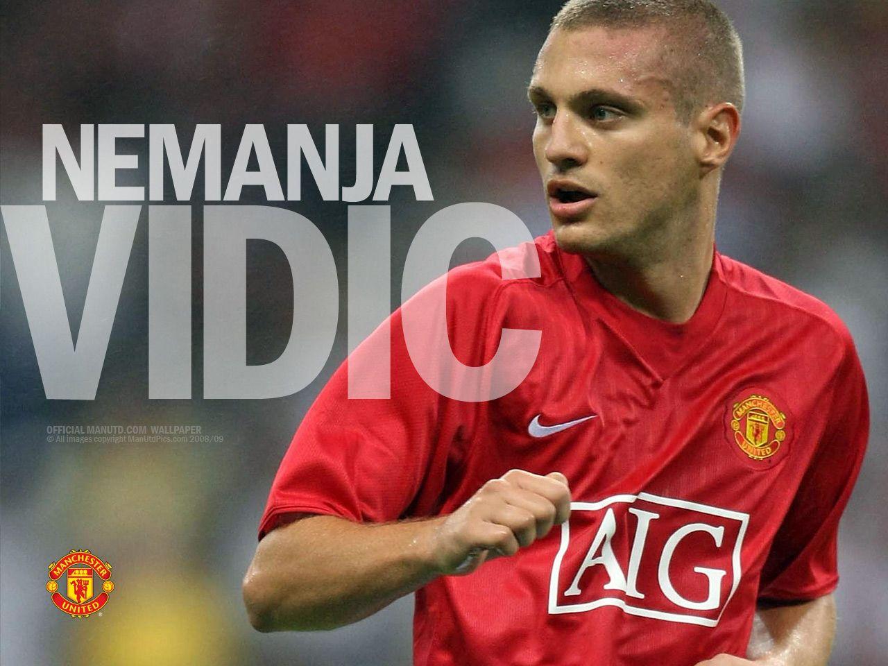 Download Football Wallpaper: Nemanja Vidić