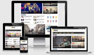 BMAG - Magazine Responsive Blogger Template (Free Premium)
