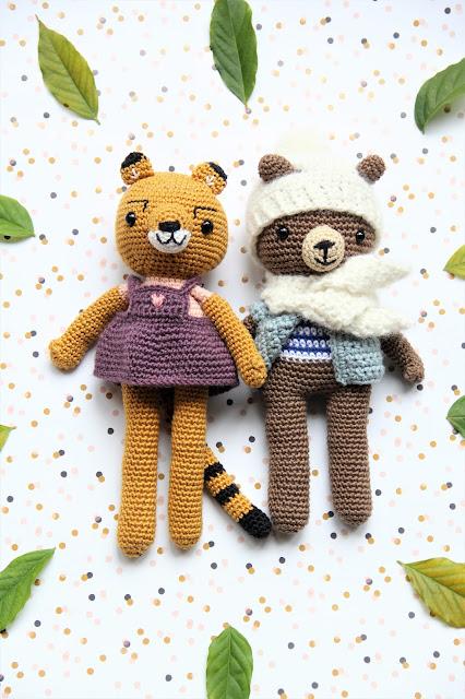 animal friends of pica pau, Crochet, gehaakte knuffels, haken, knuffels haken, Pica Pau, Studio Mojo,