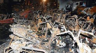 """Lộ diện """"thủ phạm"""" gây ra vụ cháy kinh hoàng chung cư Carina Plaza"""