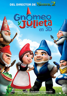 Gnomeo And Juliet 2011 DVD R2 PAL Spanish