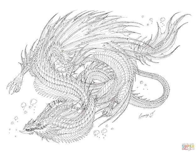 Sea Serpent Dragon