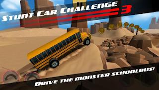Stunt car Challenge 3 Mod Apk Unlocked all car
