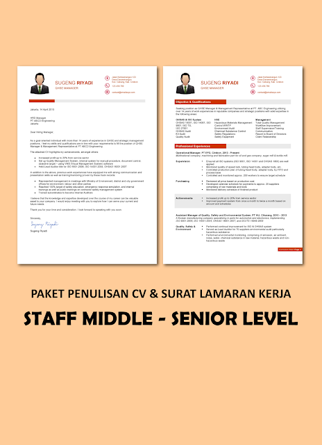 Paket Staff Junior - Middle Level