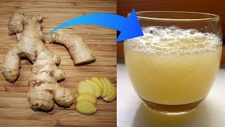 How to Make Ginger Ale to Reduce Pain