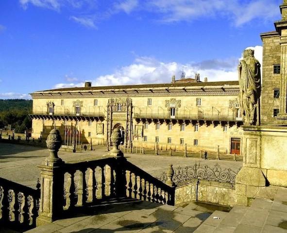 Hostal Parador dos Reis Católicos em Santiago de Compostela