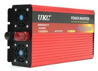 4000Watts SineWave Power Inverter (12Volts to 220Volts) - UKC®