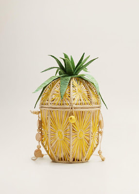 Bolso piña de Mango