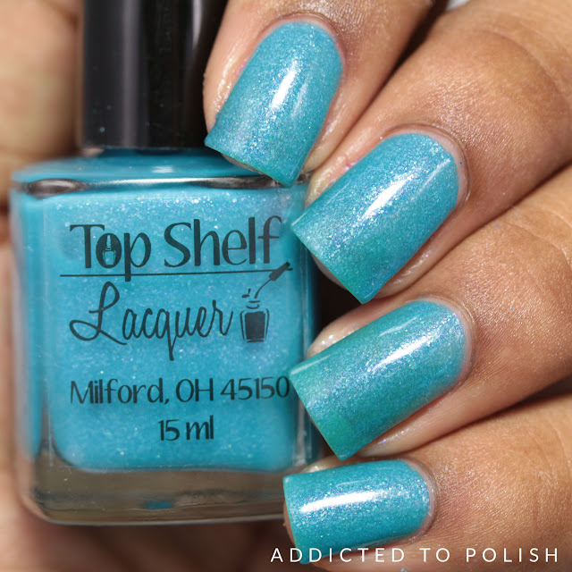 Top Shelf Lacquer Mermaid Water Cocktail Indies Outside the Box