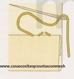 Dobladillo Plástico Mano agujas para lanas /& Hilos 211