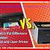 What Is the Difference Between Inkjet and Laser Printer