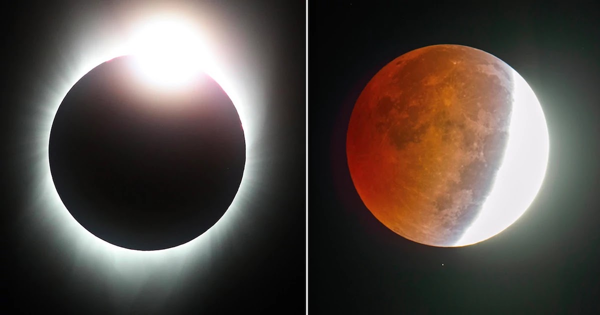 Get Ready For June's Solar And Lunar Eclipse! Here Are The Dates And Times