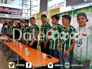 Oriente Petrolero - Presentación de Jugadores Jóvenes - DaleOoo.com página Club Oriente Petrolero