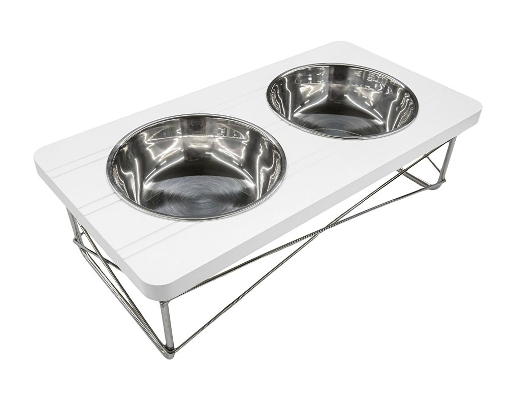 modern dog bowl stands (shop stylish raised feeders)  dans le  -  modern dog bowl stands (shop stylish raised feeders)