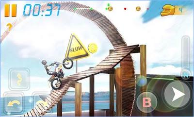 Game balapan android gratis populer bike racing 3d