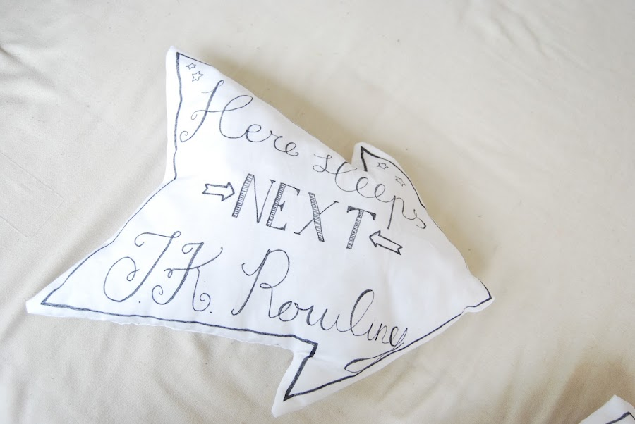 tutorial cojín en forma de flecha. DIY arrow shape cushion