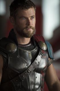 Chris Hemsworth as Thor in Thor Rognarok