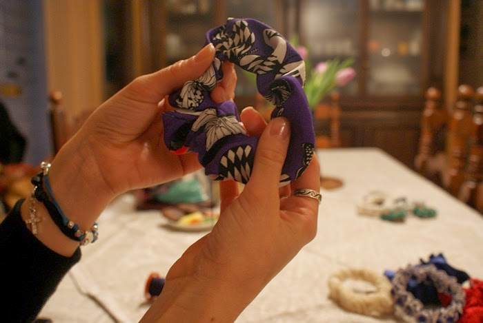 easy scrunchies tutorial step francinesplaceblog