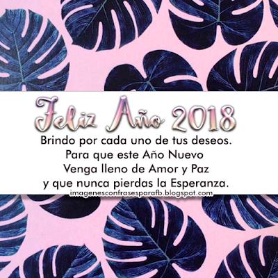 Feliz 2018 para ti