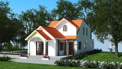 Những ngôi nhà đơn giản mà đẹp không quá mắt tiền